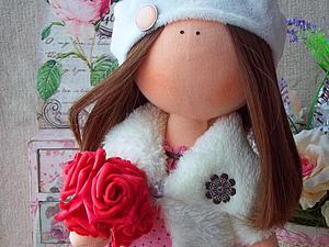 Один из способов крепления головы текстильной куклы. Ярмарка Мастеров - ручная работа, handmade.
