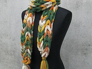 Пряжа для шарфов