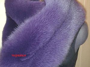 Новые цвета песца для пошива жилетов и шубок. | Ярмарка Мастеров - ручная работа, handmade