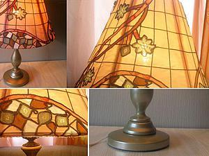 Преображение настольной лампы. Ярмарка Мастеров - ручная работа, handmade.
