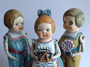 Спешите! 3 Куколки в Наличии!   Ярмарка Мастеров - ручная работа, handmade