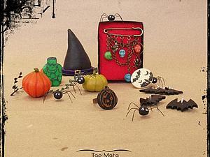 Коллекция прошедшего хэллоуина   Ярмарка Мастеров - ручная работа, handmade