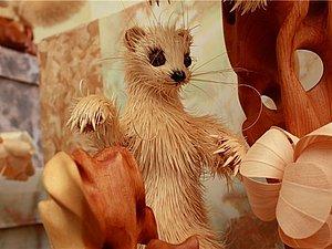 Животные из кедровой стружки Сергея Бобкова | Ярмарка Мастеров - ручная работа, handmade