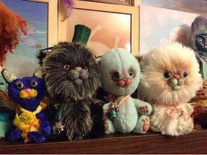 Без кота жизнь нета! 2,5 года из жизни котов-топтунов)) | Ярмарка Мастеров - ручная работа, handmade