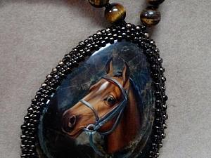 Конь-талисман от нашей заказчицы   Ярмарка Мастеров - ручная работа, handmade
