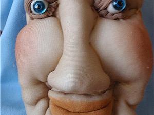 Делаем макияж текстильной кукле в технике «пастель». Ярмарка Мастеров - ручная работа, handmade.