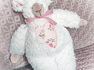 Два маленьких секрета пошива овечки тильды. Ярмарка Мастеров - ручная работа, handmade.