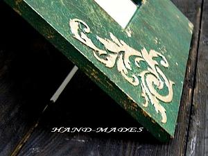 Объёмное золочение! Сусальное золото, поталевая крошка, трафареты и объемная паста. | Ярмарка Мастеров - ручная работа, handmade