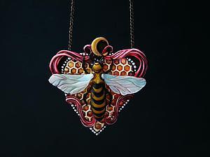 Простой способ сделать «пчелиные соты» из полимерной глины. Ярмарка Мастеров - ручная работа, handmade.