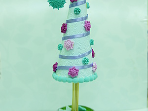 Декоративные елочки для детей и их родителей   Ярмарка Мастеров - ручная работа, handmade
