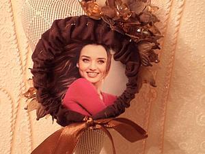 Текстильная фото-рамочка своими руками. Ярмарка Мастеров - ручная работа, handmade.