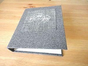 Делаем текстильную обложку для папки | Ярмарка Мастеров - ручная работа, handmade