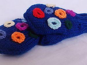 Вяжем сами детские рукавички. Ярмарка Мастеров - ручная работа, handmade.