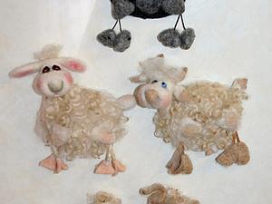 Готовимся к Новому Году. Валяем овечек, козочек..., и прочую живность.   Ярмарка Мастеров - ручная работа, handmade
