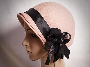 Шапочки и шляпки из войлока | Ярмарка Мастеров - ручная работа, handmade