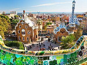 Удивительный Парк Гуэля: шедевр гениального архитектора Антонио Гауди. Ярмарка Мастеров - ручная работа, handmade.