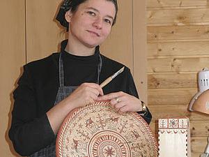 Ольга - мастер мезенской росписи | Ярмарка Мастеров - ручная работа, handmade