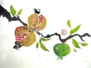 Мастер-класс по китайской акварели Гохуа | Ярмарка Мастеров - ручная работа, handmade