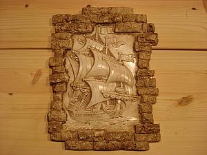 «Старый камень и слоновая кость». Ярмарка Мастеров - ручная работа, handmade.