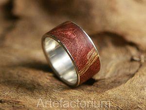 Кольца с деревом | Ярмарка Мастеров - ручная работа, handmade