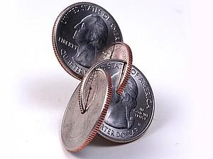 Скульптуры из монет Robert Wechsler | Ярмарка Мастеров - ручная работа, handmade