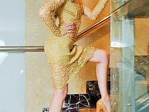 Платья золотая роза-золото на клиентки   Ярмарка Мастеров - ручная работа, handmade