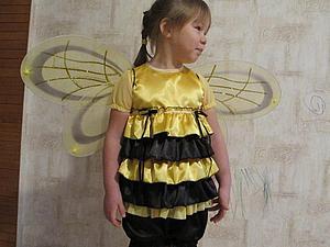 """Карнавальный костюм """"Пчелка"""" своими руками. Ярмарка Мастеров - ручная работа, handmade."""
