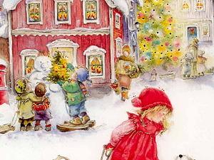 Рождественская сказка от Lisi Martin | Ярмарка Мастеров - ручная работа, handmade