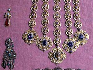 Женские украшения казанских татар (для вдохновения) | Ярмарка Мастеров - ручная работа, handmade