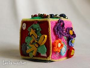 Развивающий кубик, мастер-класс, описание | Ярмарка Мастеров - ручная работа, handmade