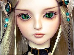 Глазки для кукол в стиле Фентези   Ярмарка Мастеров - ручная работа, handmade