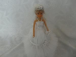 Моя новая кукла-шкатулка Невеста отличный подарок на свадьбу | Ярмарка Мастеров - ручная работа, handmade
