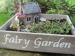 Fairy Garden — сказка в саду   Ярмарка Мастеров - ручная работа, handmade