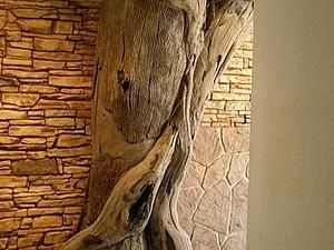 Дерево в квартире своими руками
