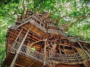 Дом на дереве | Ярмарка Мастеров - ручная работа, handmade
