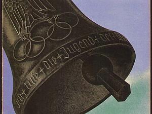 Колокола и ... искусство. Летние Олимпийские игры 1936 в Берлине. Открытка | Ярмарка Мастеров - ручная работа, handmade