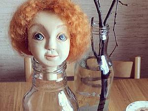 Делаем валяный паричок для куклы. Ярмарка Мастеров - ручная работа, handmade.