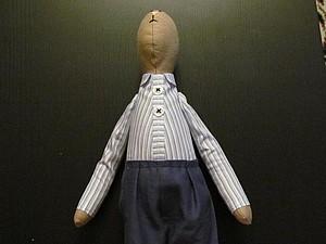 Рубашка для игрушек, на примере зайчика | Ярмарка Мастеров - ручная работа, handmade
