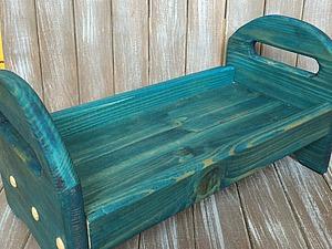 Делаем деревянную кроватку для кукол. Ярмарка Мастеров - ручная работа, handmade.