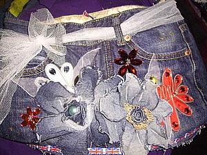 Любимые джинсы по новому. | Ярмарка Мастеров - ручная работа, handmade