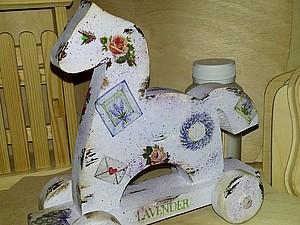 Новинка! «Символ Года» деревянная игрушка-лошадка | Ярмарка Мастеров - ручная работа, handmade
