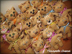 Кофейные котики-примитивы. | Ярмарка Мастеров - ручная работа, handmade