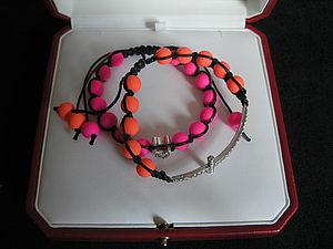 Яркие браслеты! | Ярмарка Мастеров - ручная работа, handmade