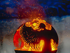 Огненные чаши Melissa Crisp   Ярмарка Мастеров - ручная работа, handmade