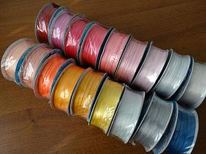 Новые расцветки атласных лент. | Ярмарка Мастеров - ручная работа, handmade