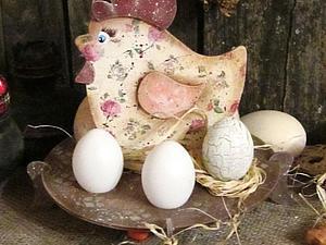 Создание подставки для яиц