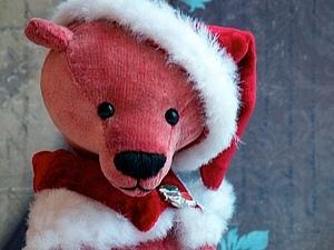 Аукцион с Нуля на Рождественского Мишку | Ярмарка Мастеров - ручная работа, handmade