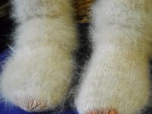 Пряжа из собачьй шерсти - первая проба, первое изделие.   Ярмарка Мастеров - ручная работа, handmade