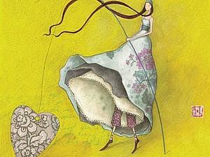 Иллюстрации Gaelle Boissonnar | Ярмарка Мастеров - ручная работа, handmade