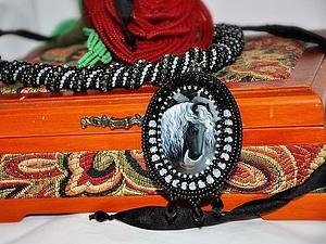 Кулон с кабошоном от VMA by Tiavin | Ярмарка Мастеров - ручная работа, handmade
